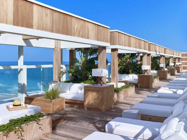 84 студии и 1 президентский люкс в 1 Hotel South Beach1 Hotel South Beach, Майами