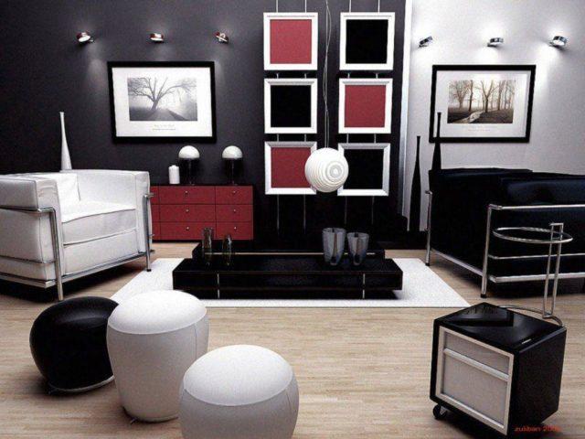 Преимущества черного цвета в интерьере