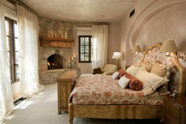 Сельский дизайн спальни в стиле кантри: создание деревенского уюта в центре мегаполиса