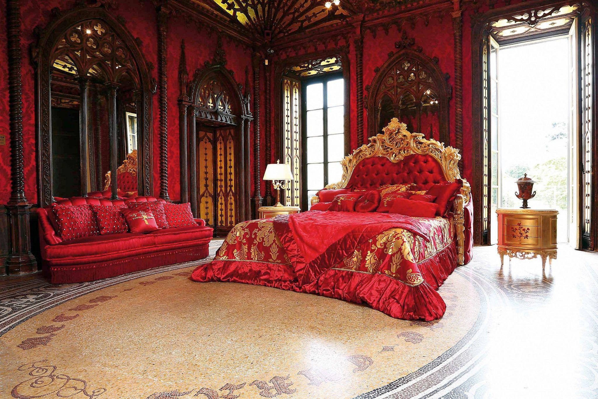 Королевская спальня картинки
