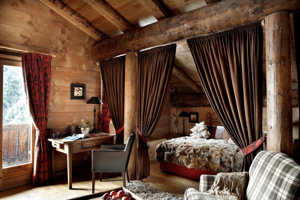 Дизайн деревенского дома внутри своими руками фото