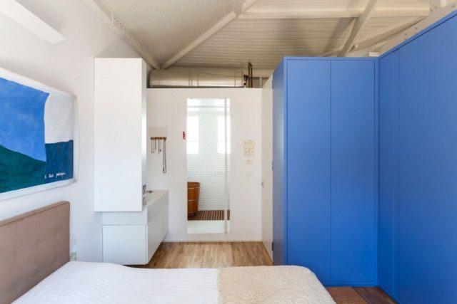 Яркий интерьер в квартире Бразилии
