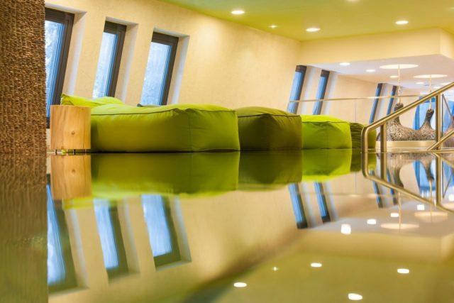 Величественный отель Австрии Aqua Dome