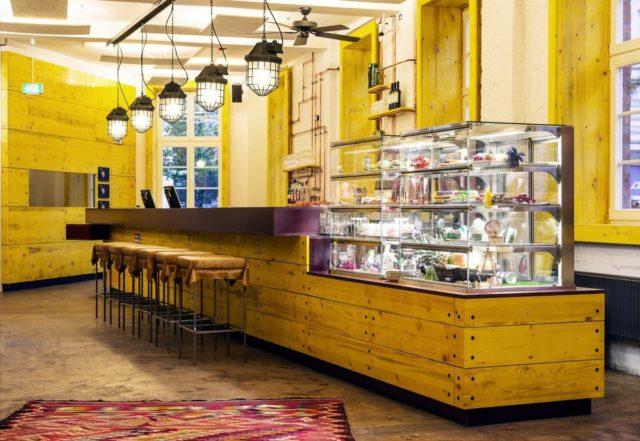 Хостел Superbude 2 на 90 комнат в районе Гамбурга
