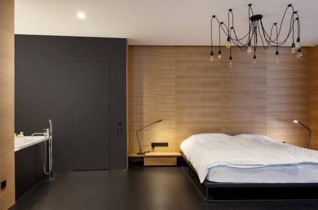 Киевская квартира в стиле минимализм от Igor Sirotov Architects.