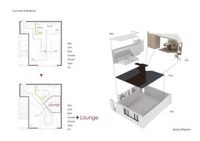 Футуристичное проживание в Hotel the Designers Incheon в Южной Корее