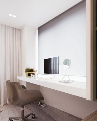 Minsk Apartament как пример строго интерьера в Минске