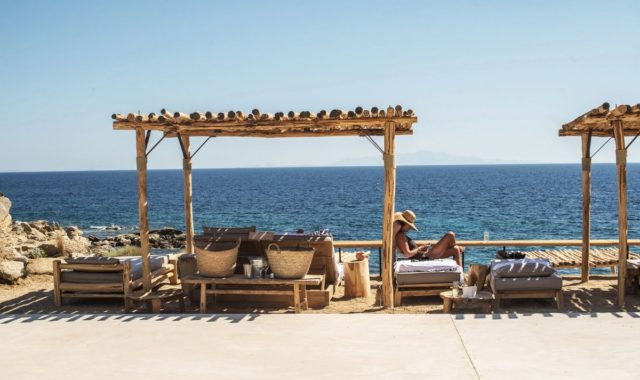 Scorpios - шикарный отельный комплекс на греческом острове Миконос