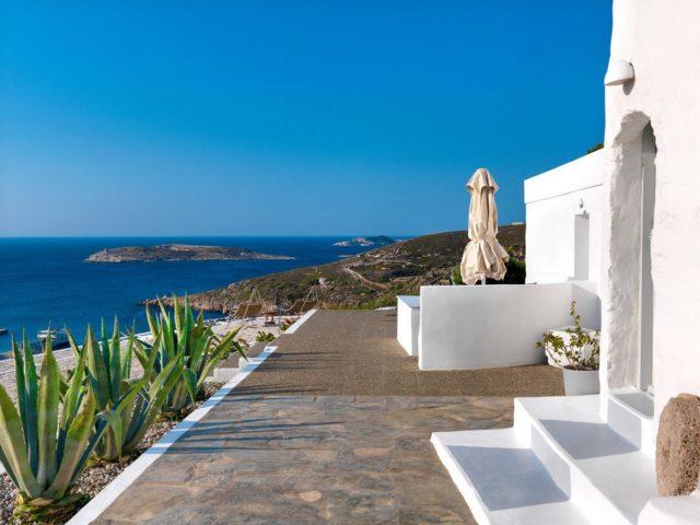 Потрясающий отель Windmill Hotel в Греции