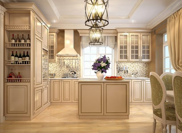 Кухня в стиле неоклассика: яркие тренды + реальные фото