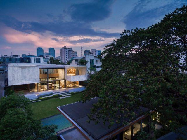 Проект мраморного особняка в Таиланде