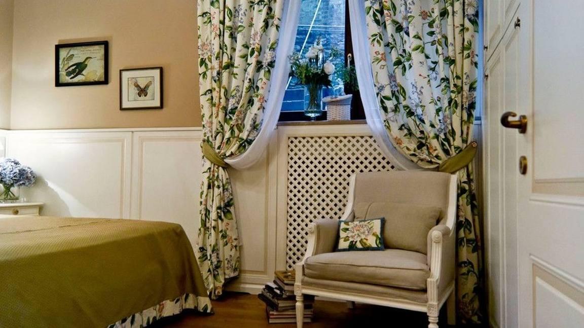 Шторы в стиле прованс для спальни: фото
