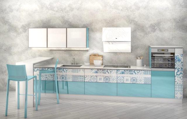 Кухня в стиле пэчворк: фото модных идей + хитрости оформления