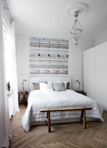 Шикарный дизайн спальни в скандинавском стиле: фото + удачные примеры оформления
