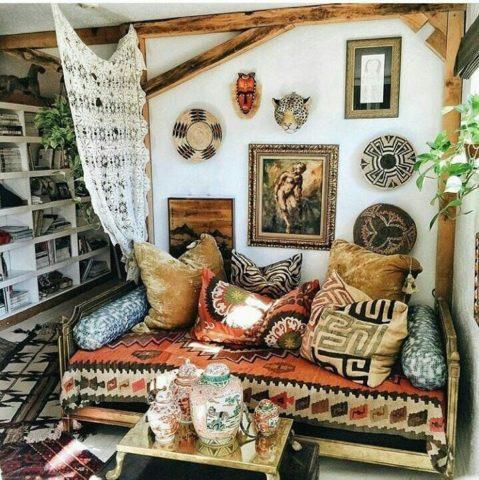 Ковер в интерьере спальни: новинки и примеры оригинального дизайна + фото