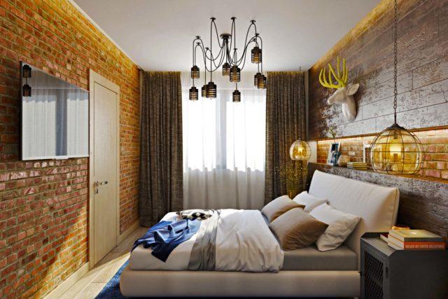 Телевизор в спальне: варианты удачного размещения, нюансы крепления, дизайн