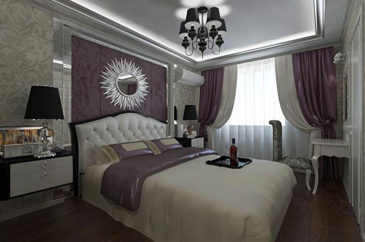 недавно она фото белой спальни в стиле арт деко всей души