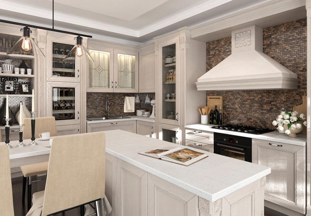 Кухня в стиле арт-деко: интерьер + фото