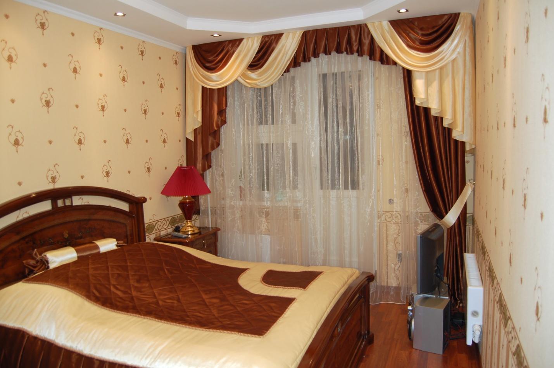 Картинки шторы с ламбрекенами для спальни