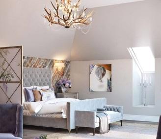 Дизайн спальни на мансарде: идеи для воплощения, советы + фото примеры