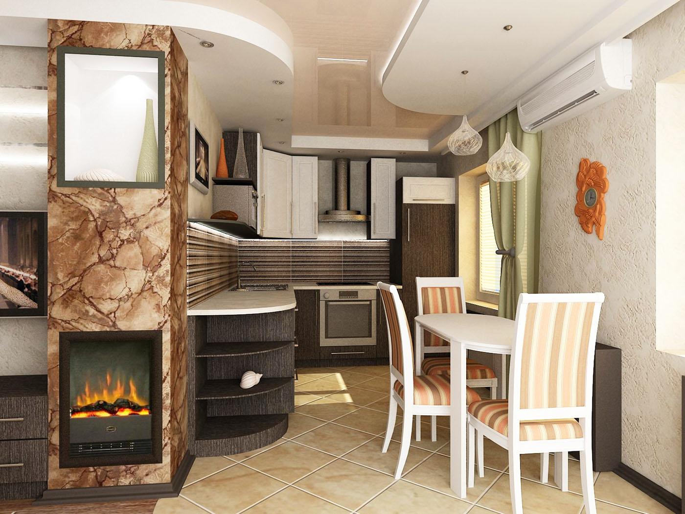 Перегородки из гипсокартона фото кухня гостиная скутеры