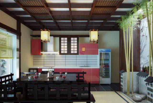 Дизайн кухни в японском стиле: правила и идеи создания гармоничного дизайна