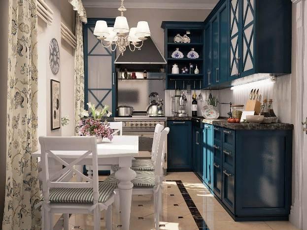 Солидный интерьер кухни в английском стиле: лучшие дизайнерские решения + фото