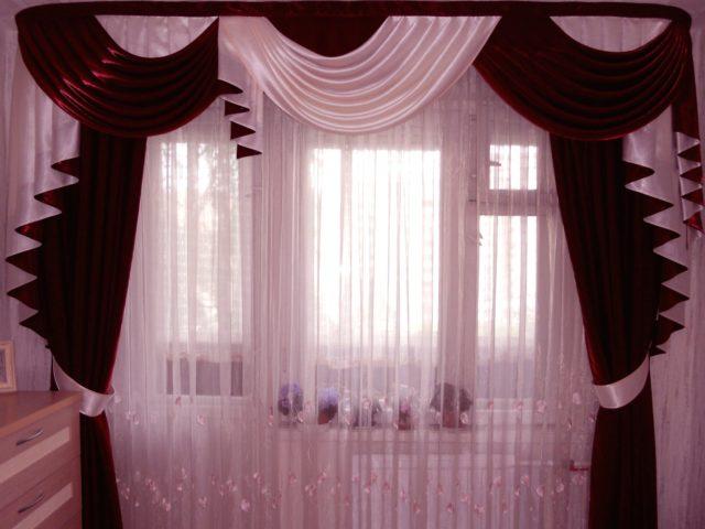 Ламбрекены для спальни: фото модного дизайна + выигрышные идеи