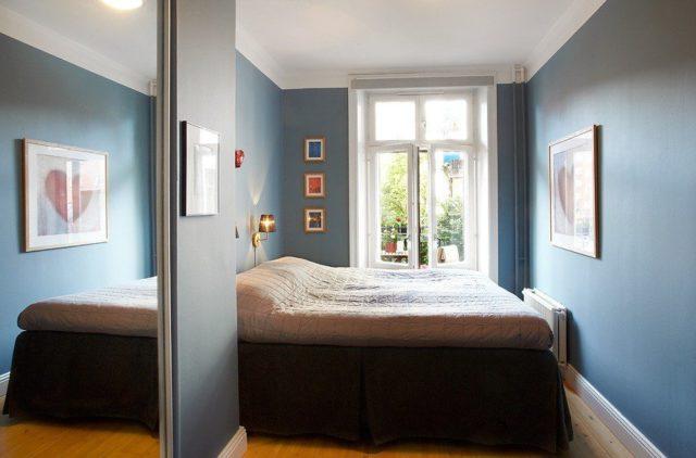 Дизайн узкой спальни в хрущевке: секреты увеличения пространства + фото-идеи