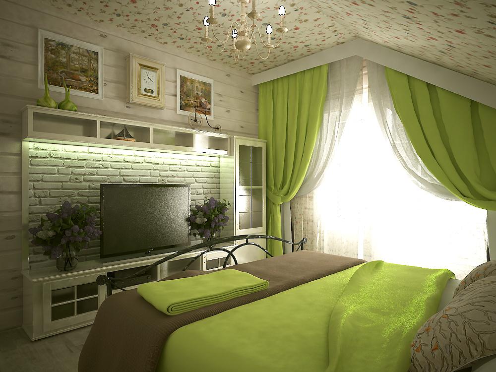 Спальня в стиле прованс своими руками: интерьер, реальные фото, видео