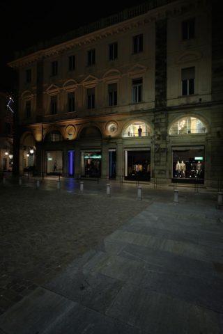 «An (In) Discreet Eye» в Турине с видом на Сан-Карло