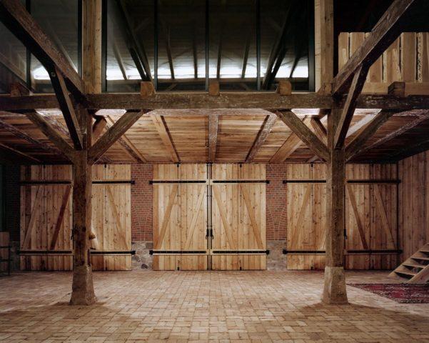 Кирпичный сарай под жилье Landhaus