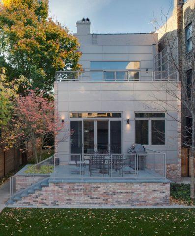 Обновление дизайна Lincoln Park Residence