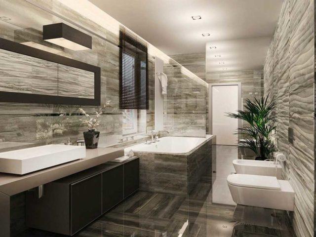 Дизайн ванной комнаты в стиле современности