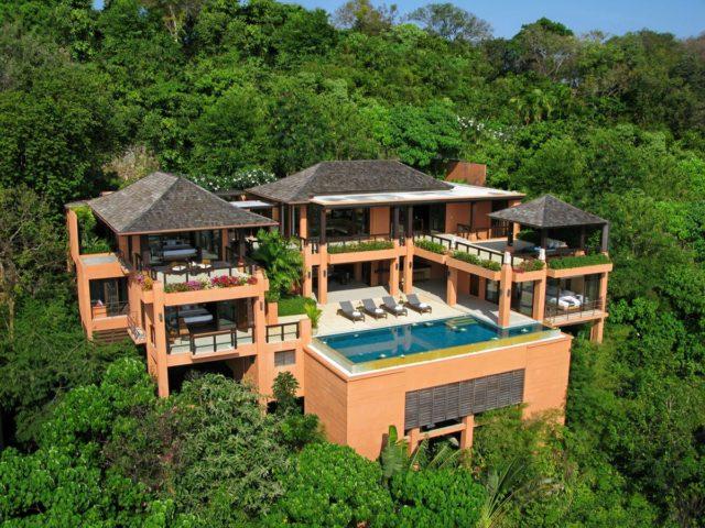 Вилла Villa Kiana с видом на океан в Таиланде