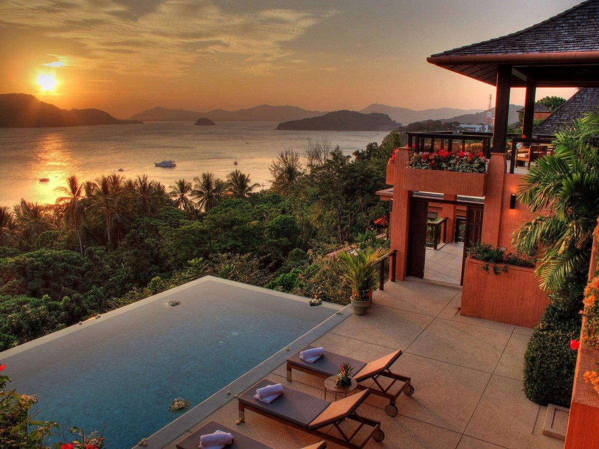 Дома на берегу океана таиланда фото
