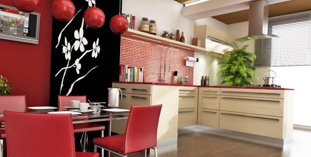 Красочный дизайн кухни в восточном стиле: уникальные идеи + фото примеры