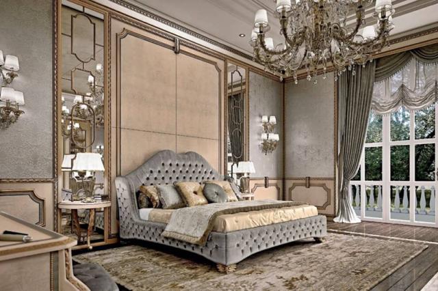 Спальня в итальянском стиле: роскошный дизайн и секреты оформления