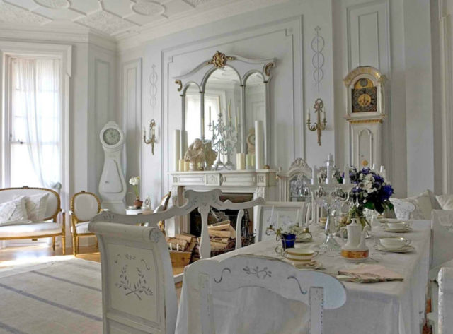 Интерьер кухни в стиле рококо: стильные идеи изумительного дизайна + фото