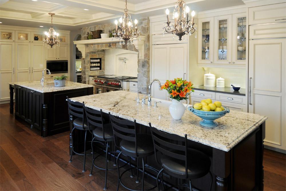 Люстра на кухню в стиле прованс + фото