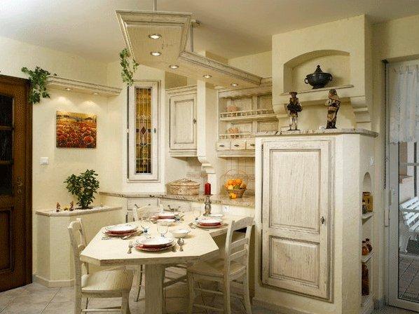 Маленькая кухня в стиле прованс: шикарные проекты + советы от дизайнеров