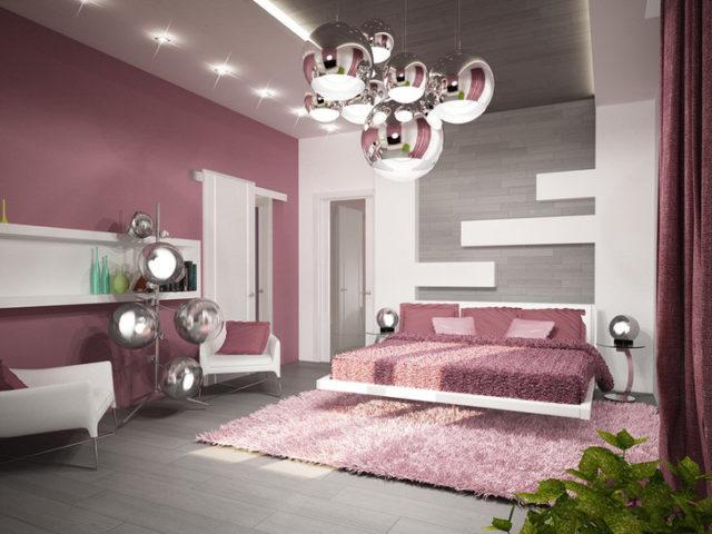 Люстры для спальни: секреты выбора под стиль интерьера + фото