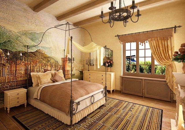 Спальня в средиземноморском стиле: дизайн с фото + особенности стиля
