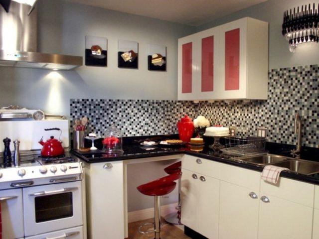 Дизайн кухни в стиле ретро – ностальгия по ушедшей эпохе