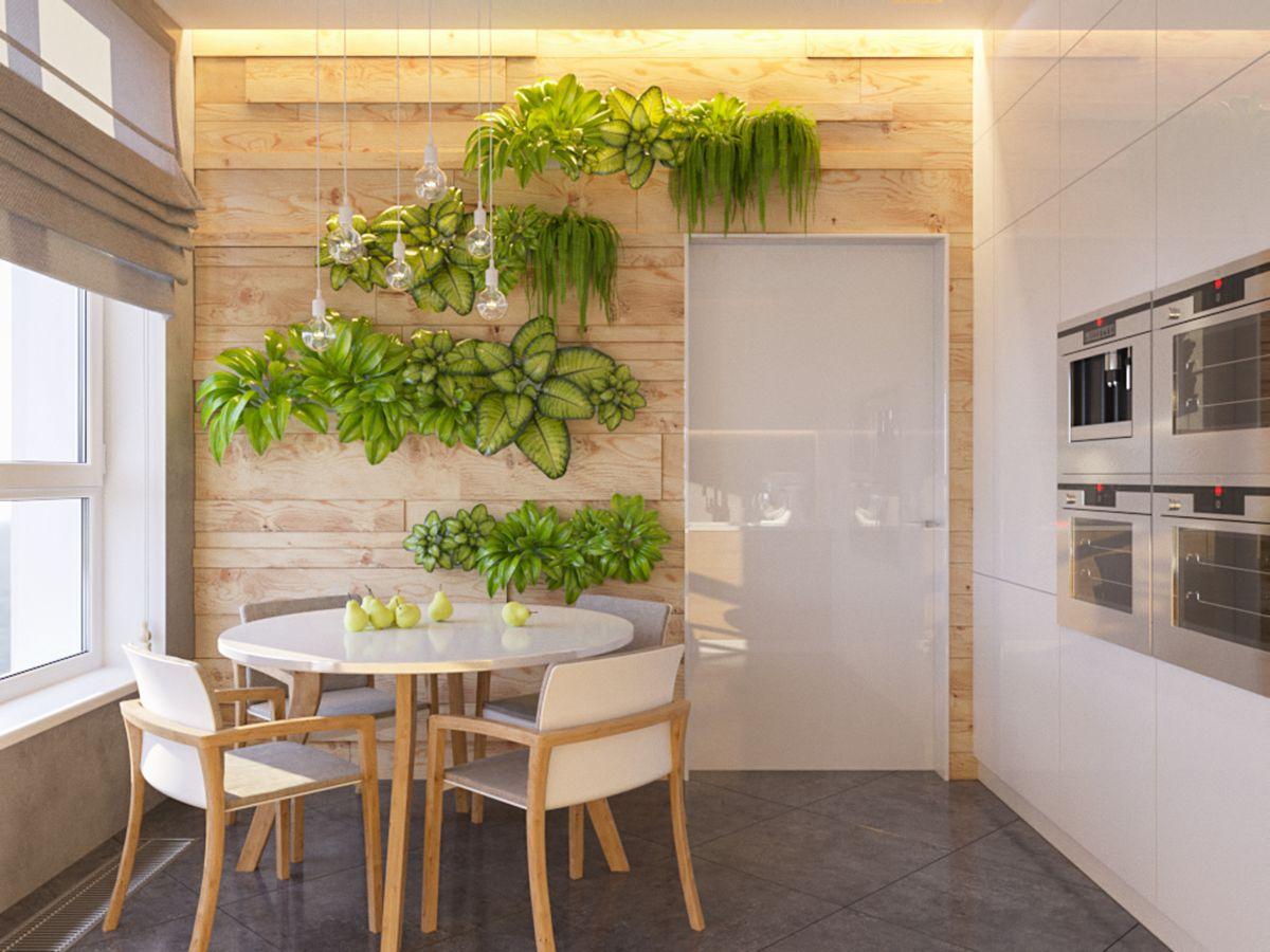 Кухня в эко-стиле: интерьер + фото