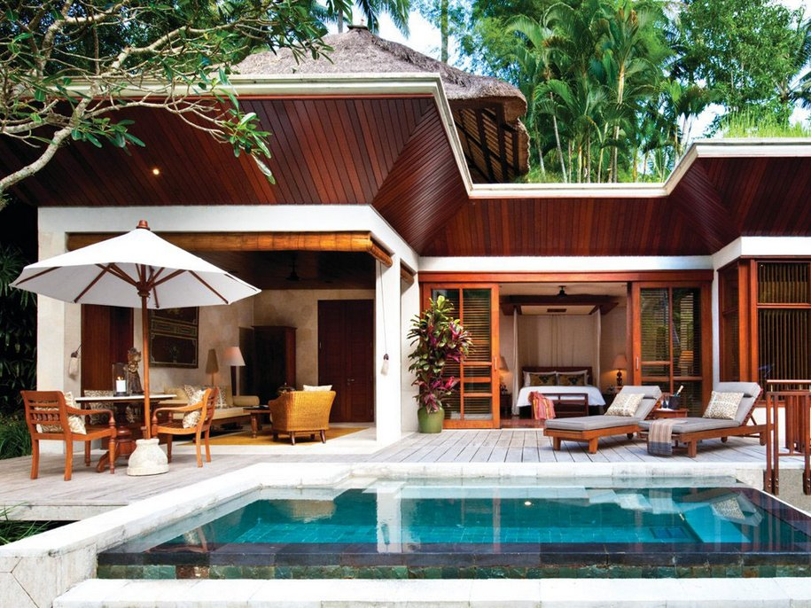 Тропический Four Seasons на Бали