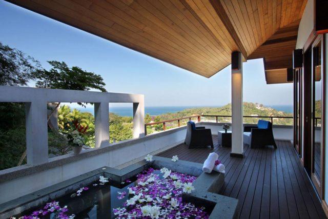 Тайская вилла Villa Yang Som в 6 этажей