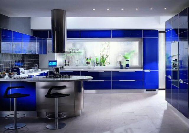 Кухня в стиле авангард – неординарный и озорной дизайн интерьера