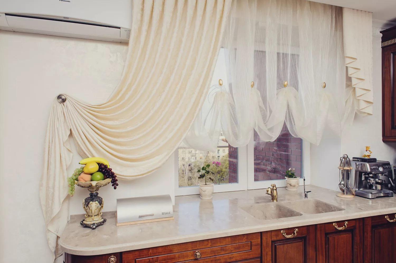 Картинки шторы для кухни фото дизайн