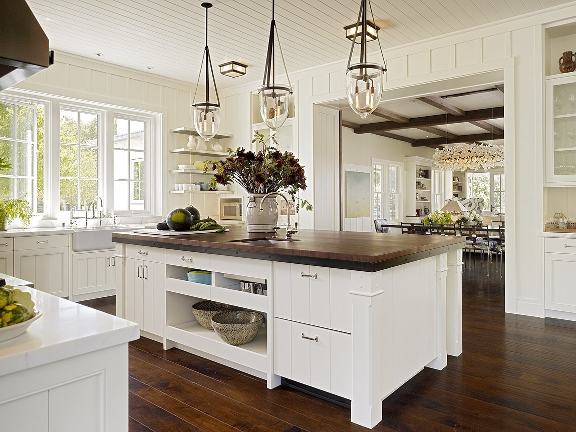 обладала кухни в американском стиле фото дольникова крайне